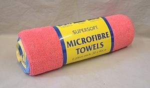 Microfibre Cloths 6 Pack