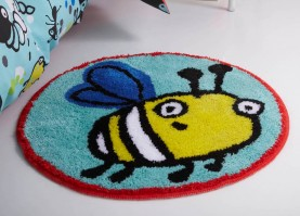 Creepy Crawlies Round Rug 60x60cm