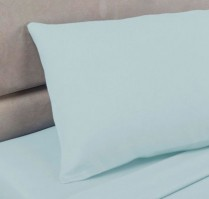 Duck Egg Polycotton Percale Housewife Pillowcase (pair)