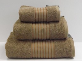 Windsor Latte Egyptian Cotton Bath Towel