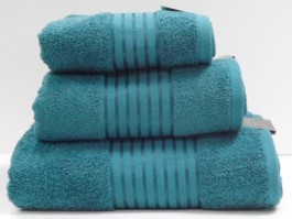 Windsor Teal Egyptian Cotton Hand Towel