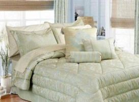 Ariana Duck Egg Double Bedspread