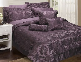 Carrington Damson King Size Comforter