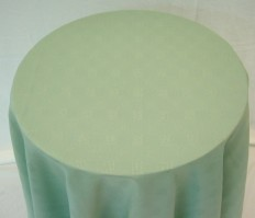 Vienna Round Green Tablecloth 178cm