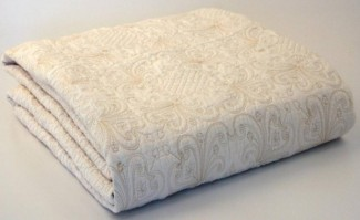 Harvard Cream Double Bedspread