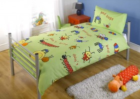Bed Bugs Duvet Cover Set Single