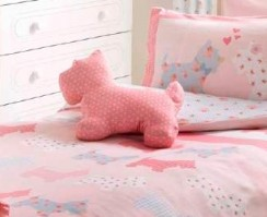 Scottie Pink Complete Cushion