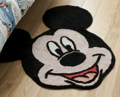 Mickey Mouse Mickey Head Rug 