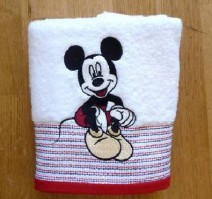 Mickey Mouse Face Cloth