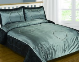 Palermo Graphite Double Bedspread Set