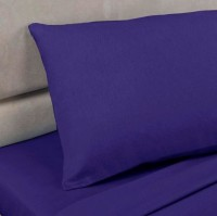 Royal Blue Polycotton Percale Housewife Pillowcase (pair)