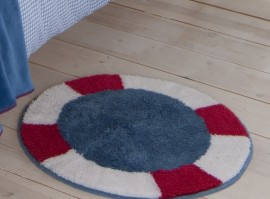 Sailing Boats Port Hole Rug