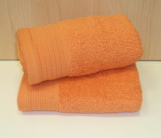 Luxury Egyptian Cotton Tangerine Bath Mat